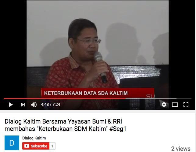 Dialog Kaltim TV - M3Machine #01 - Keterbukaan Informasi Sumber Daya Alam Kalimantan Timur